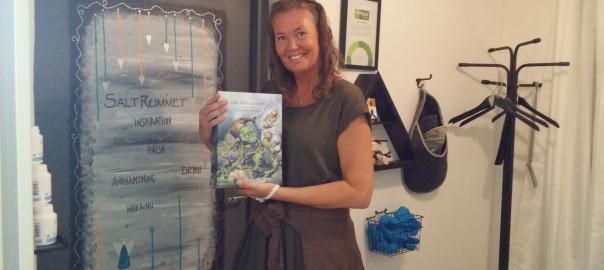 Olle, Pelle och havet. En fint illustrerad bok på rim av Pernilla Dufwenberg