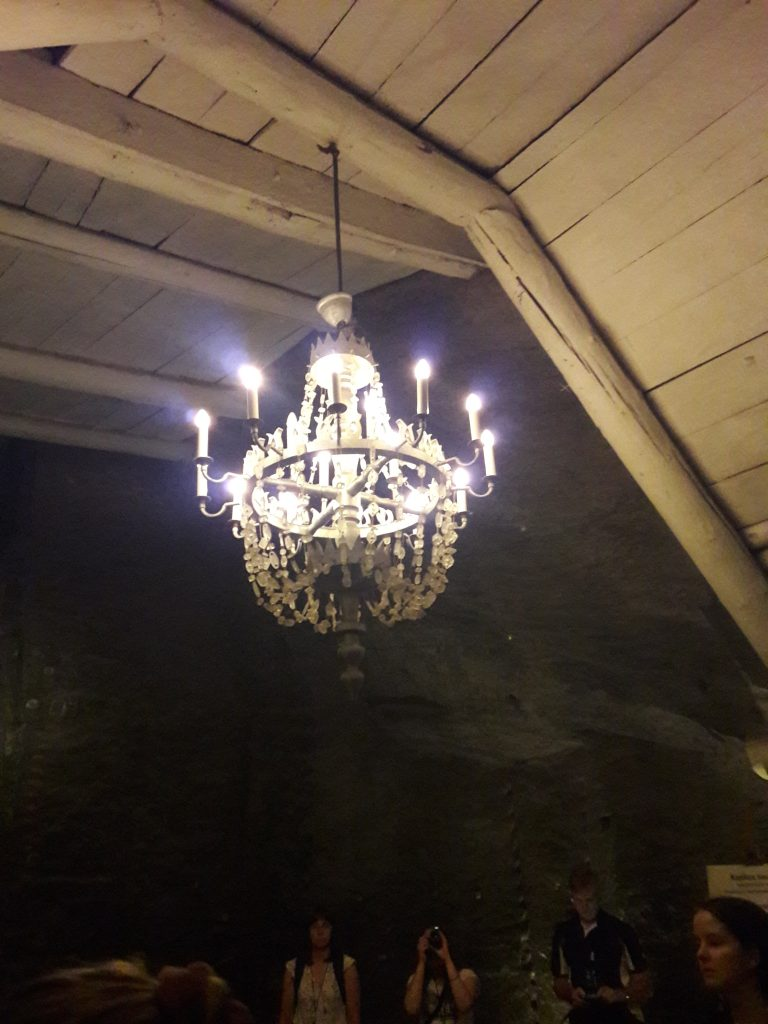Saltkristalllampa